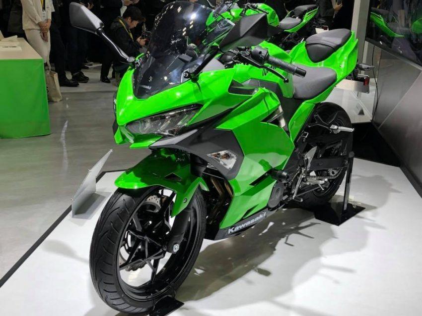 Kawasaki Ninja 250 Buatan Cibitung Siap Didistrbusikan Ke Konsumen