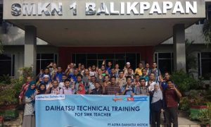 Daihatsu Technical Training for SMK Teacher 2018