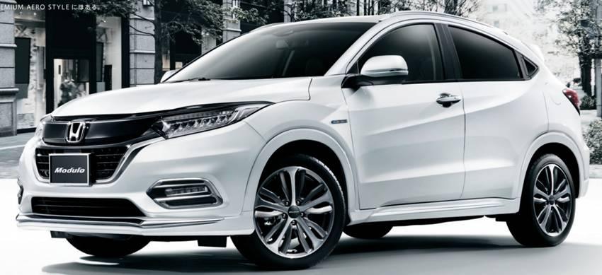 Aksesoris Mugen dan Modulo untuk Honda HR-V Facelift