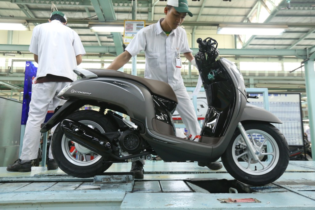 New Honda Scoopy