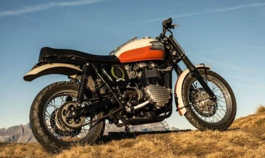 Triumph Bonneville Bud Edkins Desert Scrambler Special