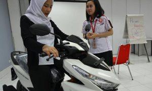 seleksi layanan Honda