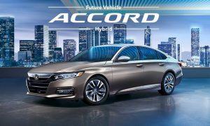 All New Honda Accord Hybrid
