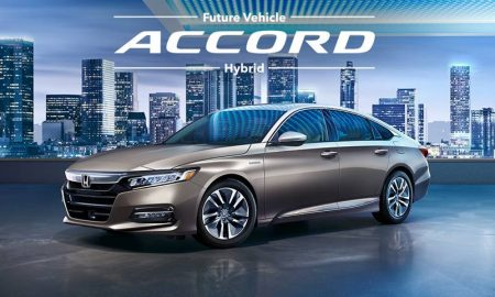All New Honda Accord Hybrid