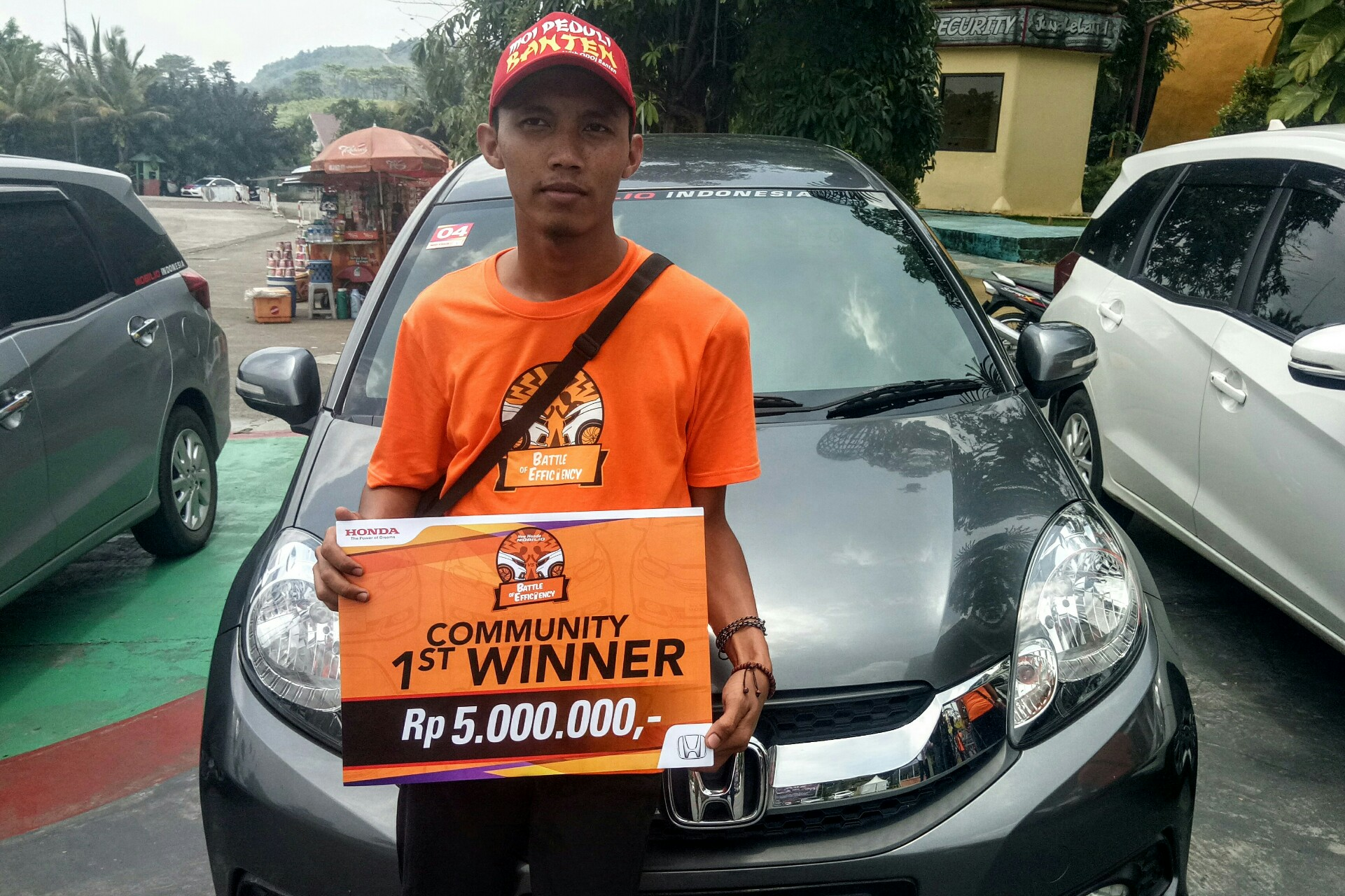 Honda Mobilio Battle of Efficiency Seri 4