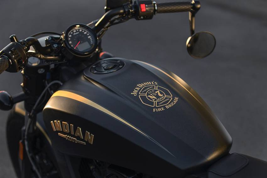 Jack Daniel's Limited Edition Indian Scout Bobber