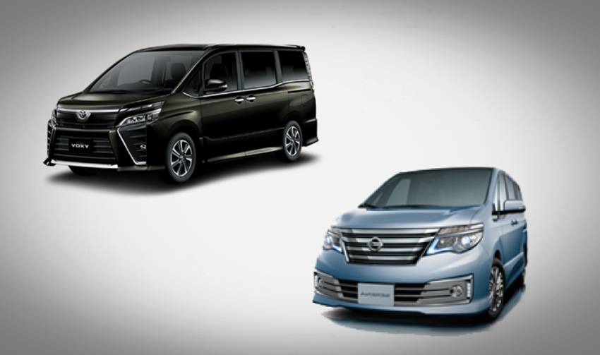Nissan Serena atau Toyota Voxy