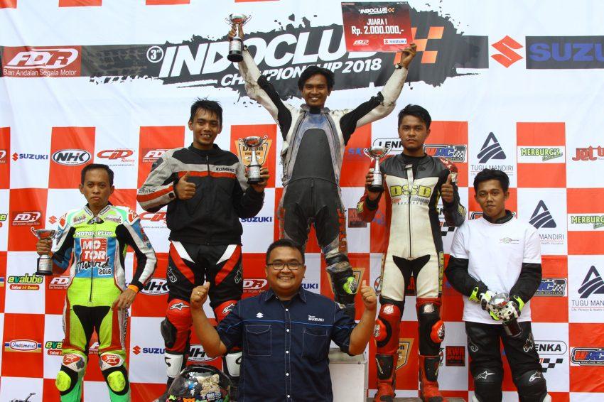 Seri I Indoclub Championship 2018