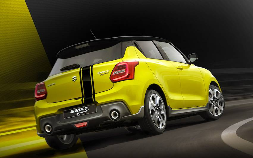 Suzuki Swift Sport BeeRacing 2018