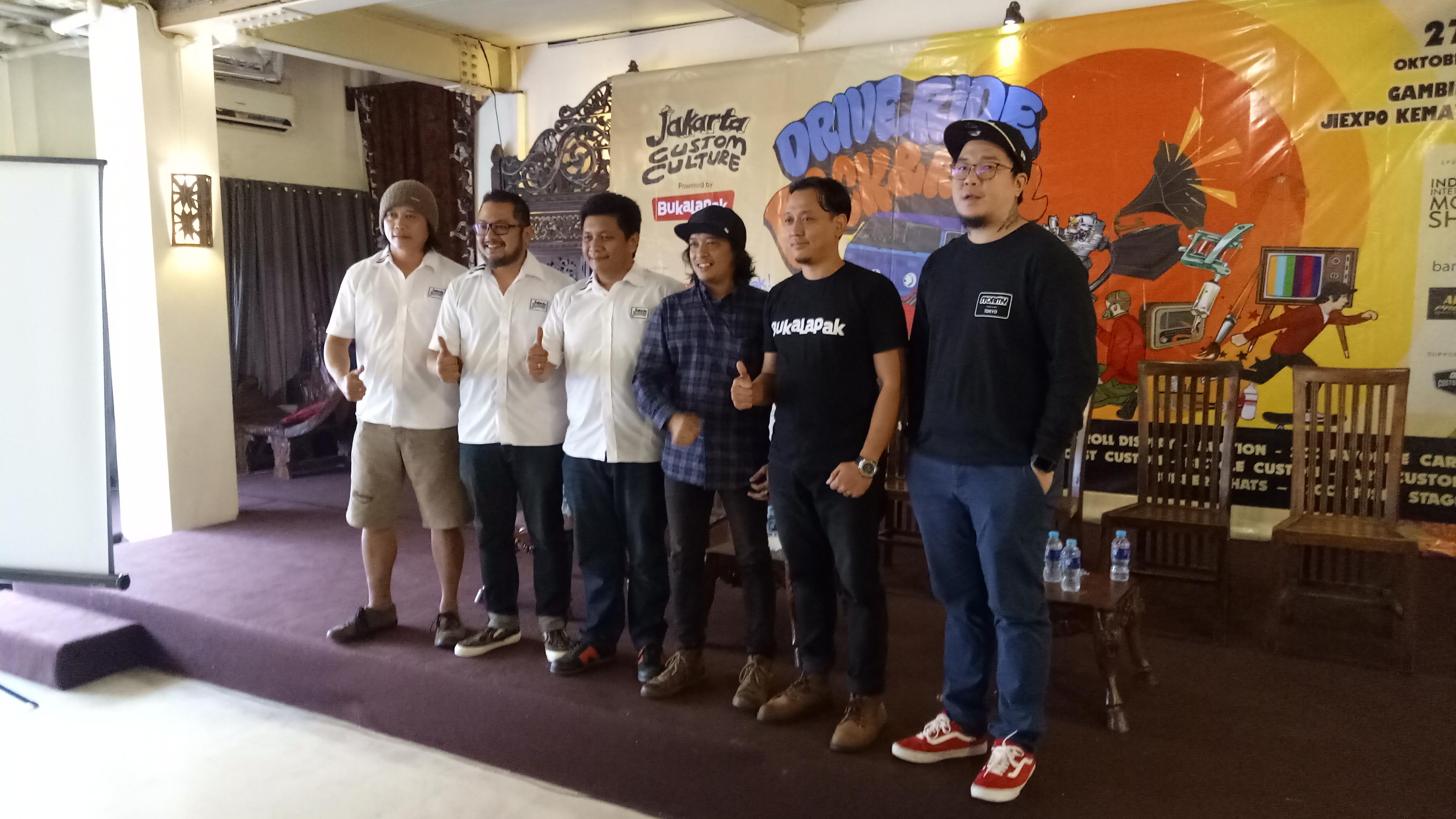 Jakarta Custom Culture Siap Kembali Jadi Ajang Berkarya Dan