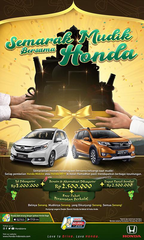 Semarak Mudik Bersama Honda (1)