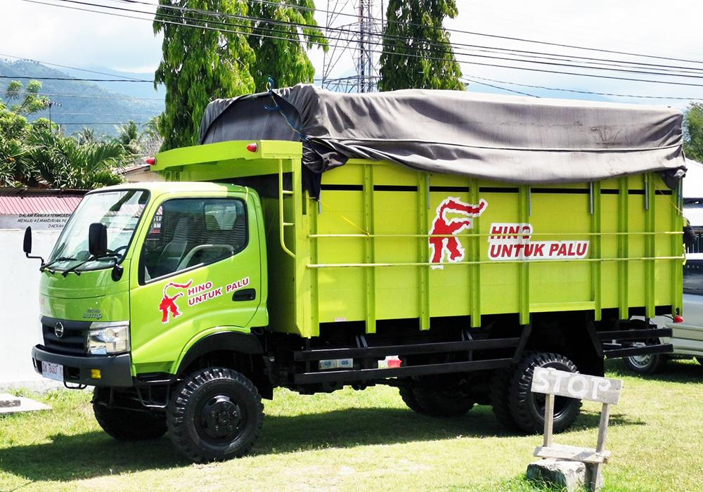 Gambar Modifikasi Truk Hino Dutro Hino Donasikan Dutro 4 4 Untuk Pemulihan Bencana Alam Di Sigi