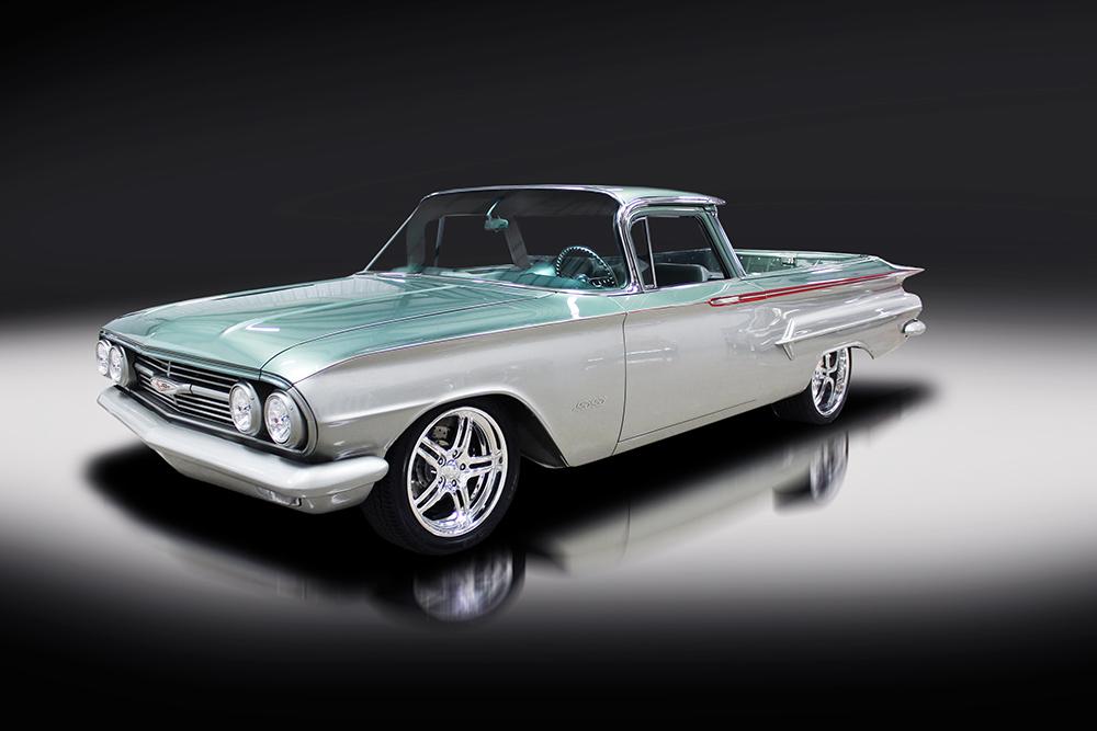 7. 1960 Chevrolet El Camino Custom Pickup, sold for $126,500 in