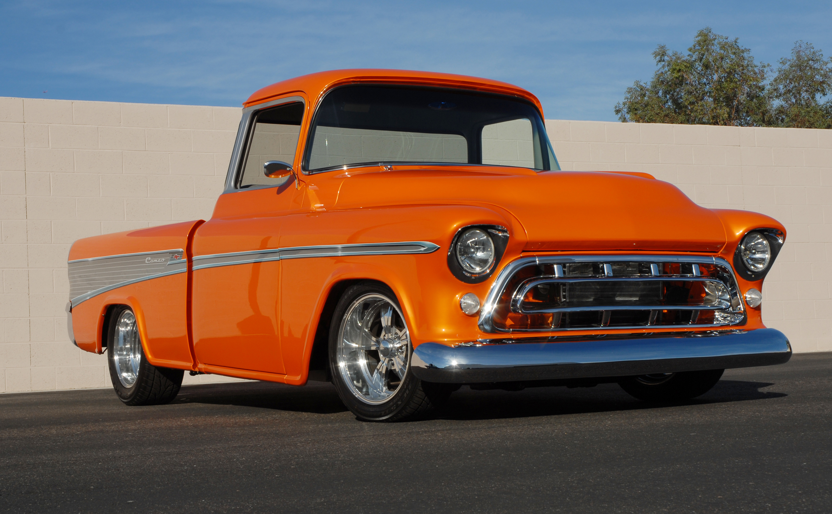 3. 1957 Chevrolet Cameo Pickup, sold for $159,500 in 2007