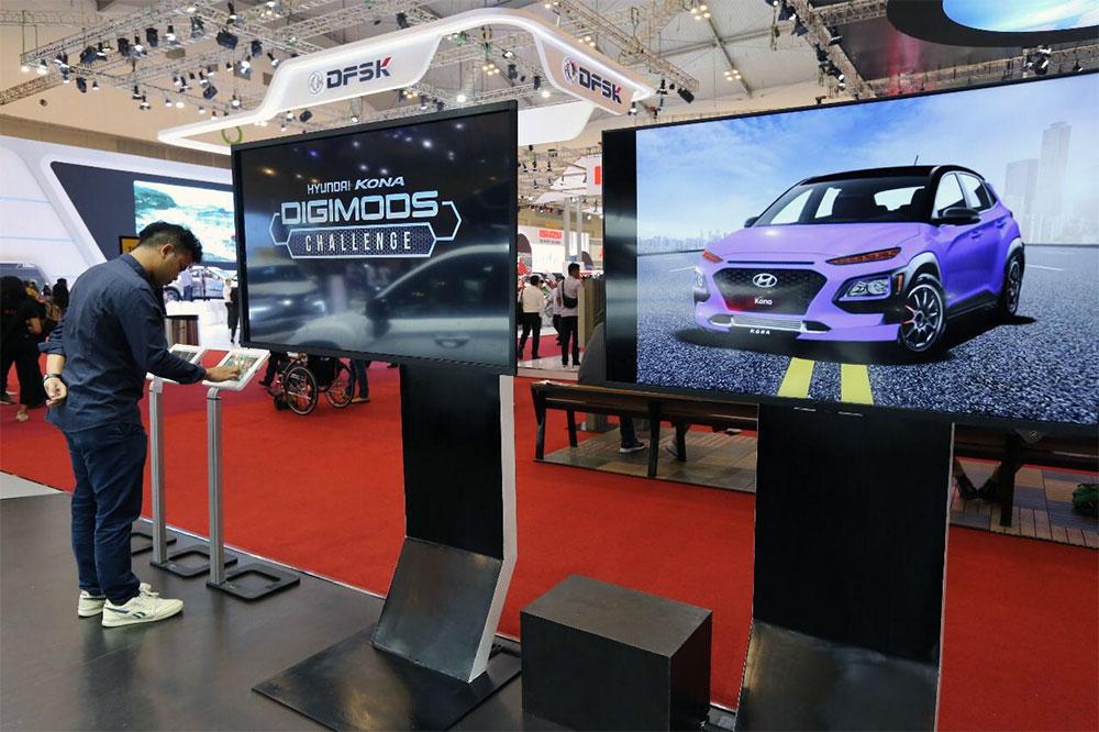 Hyundai Pajang Kona Edisi Modifikasi Pemenang Digimods Challenge
