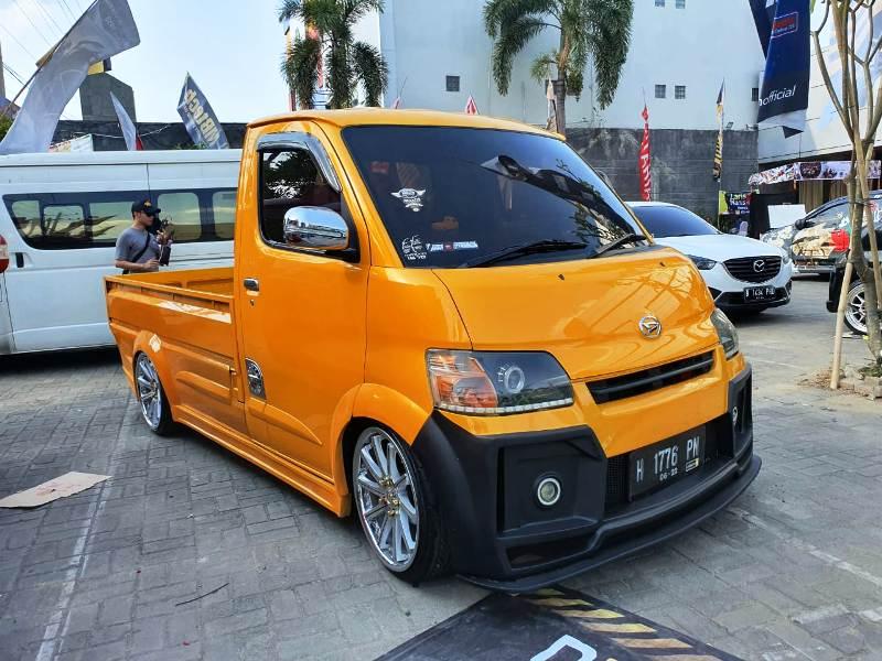 Daihatsu GranMax Hasil Modifikasi Peserta DDC SemarangTerlihat Kinclong …