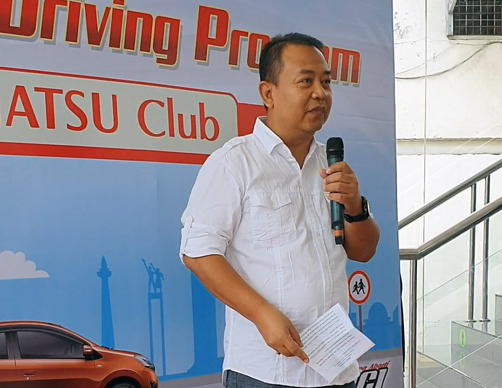 Acara Dibuka oleh Sapto Pamungkas, Koordinator Service Jawa Timur