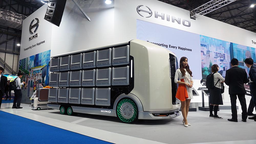 Hino Flat Former sudah dengan bodi di Tokyo Motor Show 2019