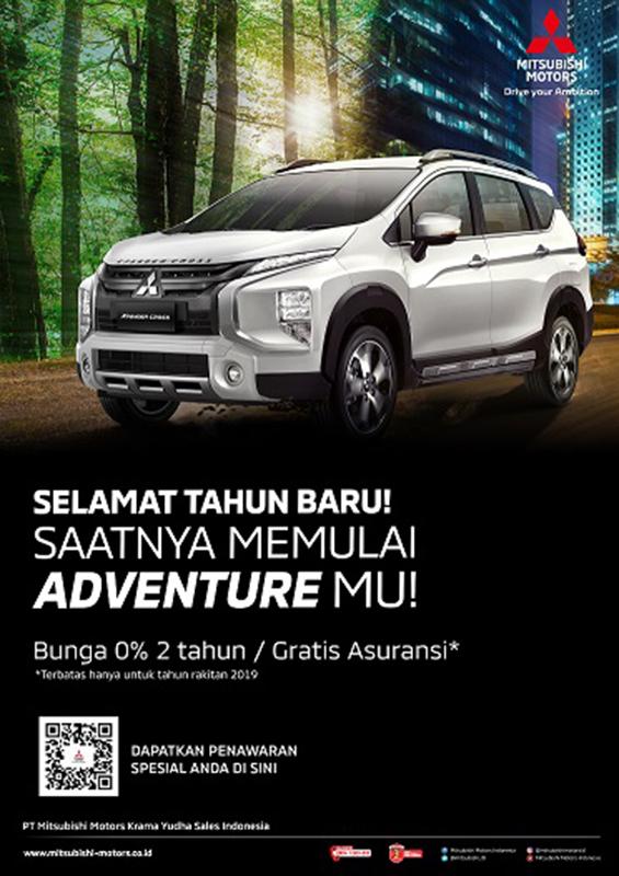 Program Penjualan Mitsubishi Motors Januari 2020