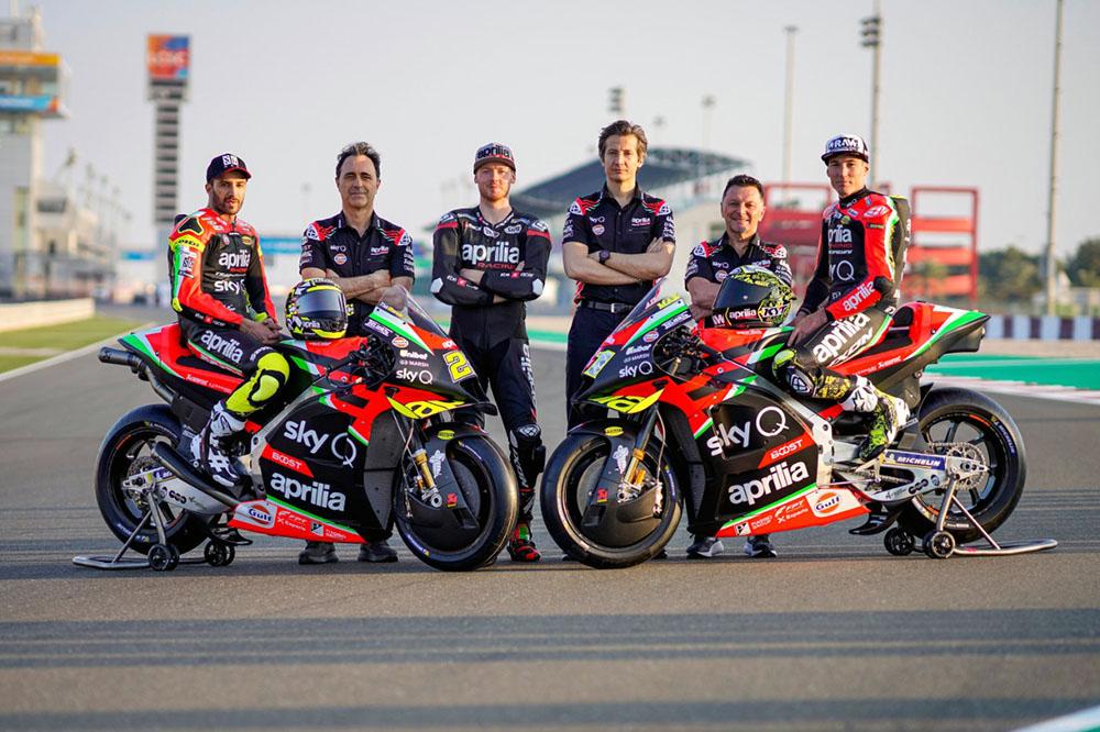 Foto 1 – Aprilia Racing Team 2020