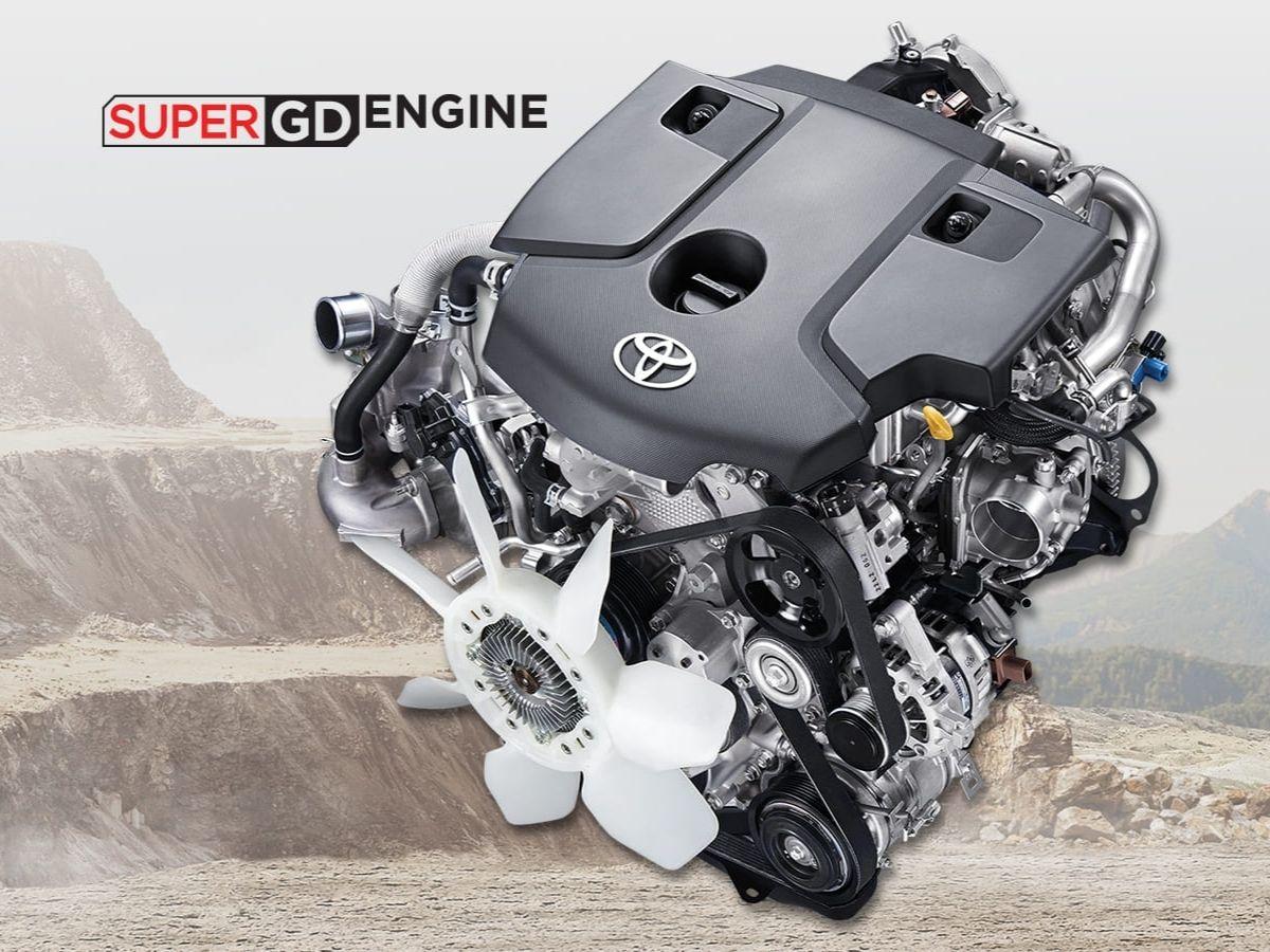Mesin 2.4L 2 GD-FTV Toyota Hilux