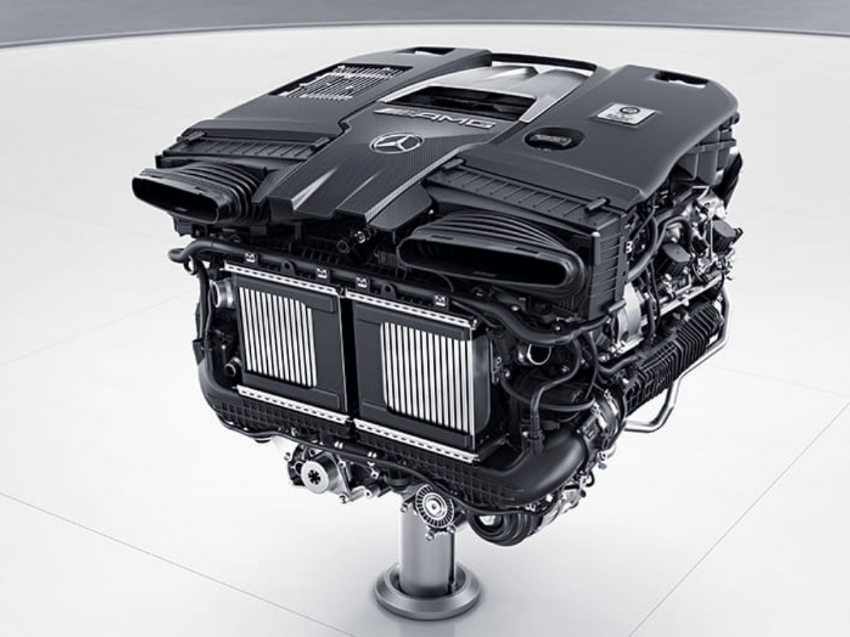 Mesin Mercedes-Benz AMG GT 63S E 4Matic+