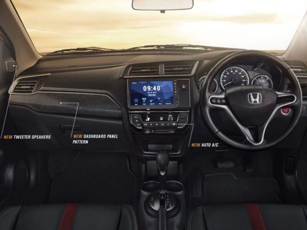 Dashboard Interior Honda BR-V