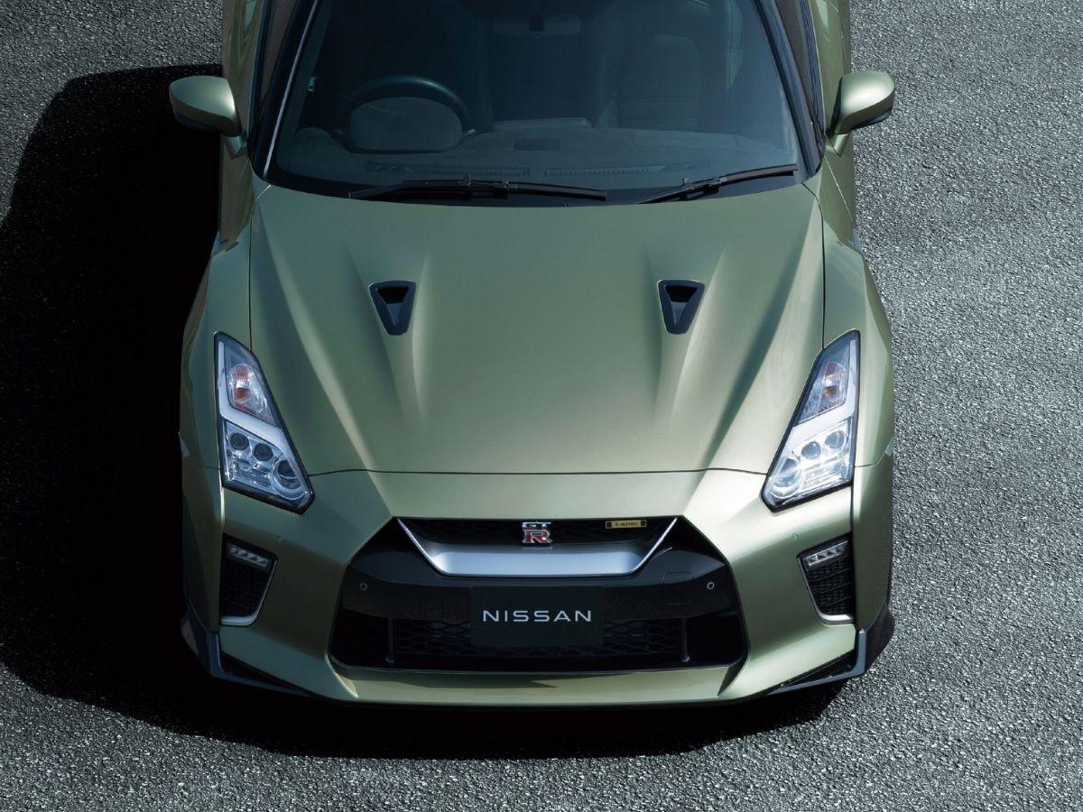 Tampilan depan Nissan GT-R T-Spec