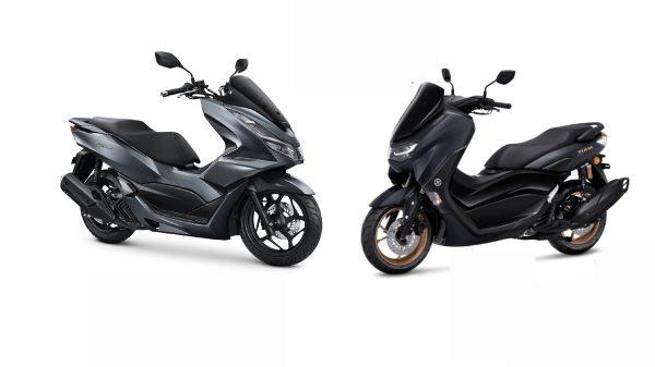 Ukuran Honda PCX 160 dan Yamaha NMAX 155 Connected yang beda tipis