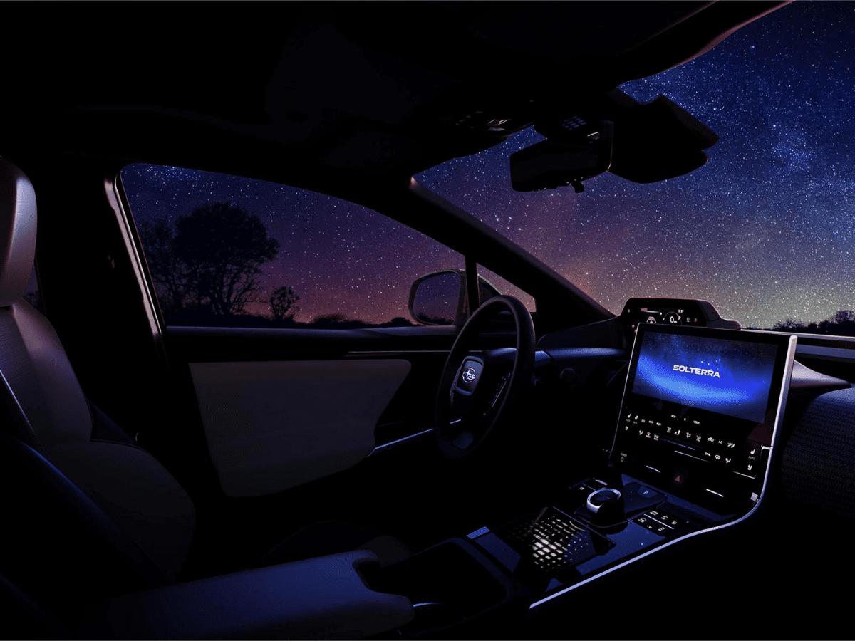 Interior Subaru Solterra