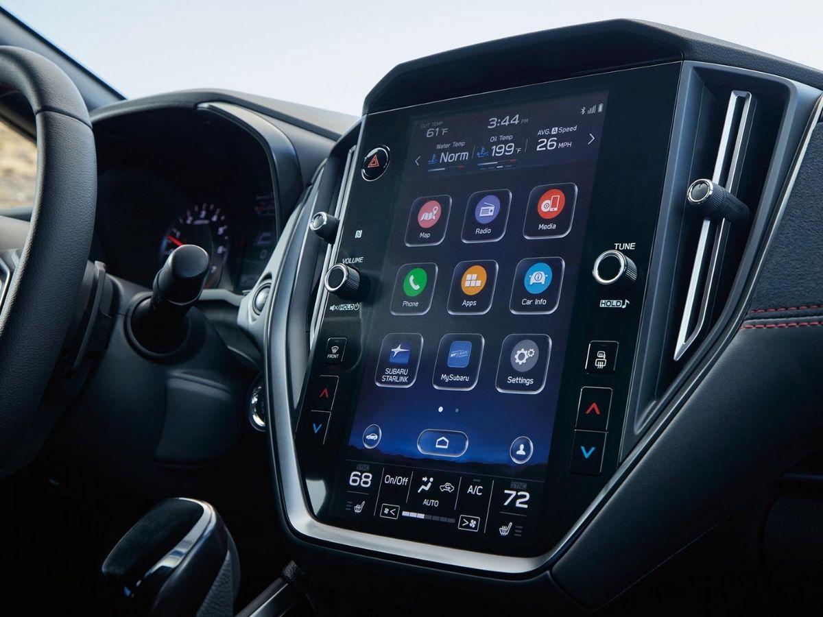 Fitur interior Subaru STARLINK