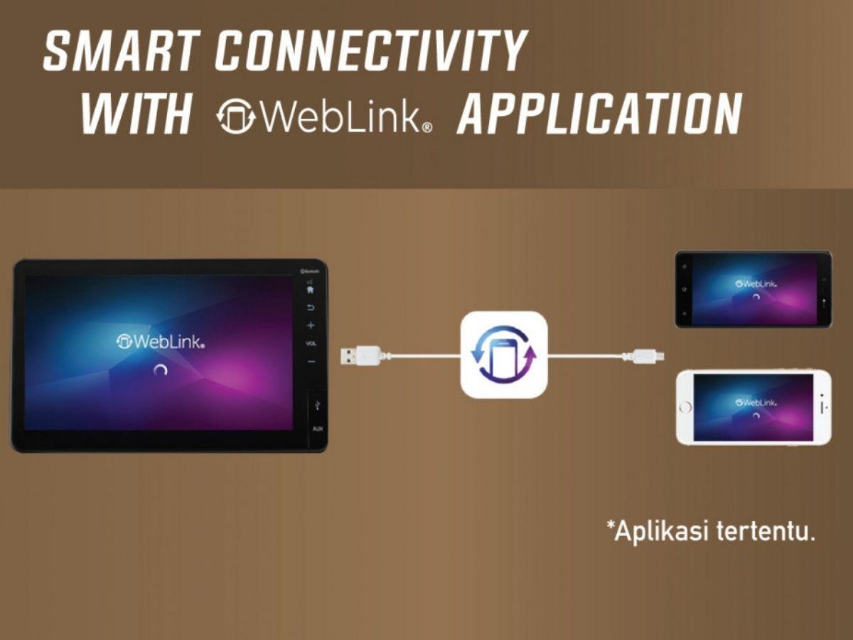 Smart Connectivity dengan Aplikasi Weblink