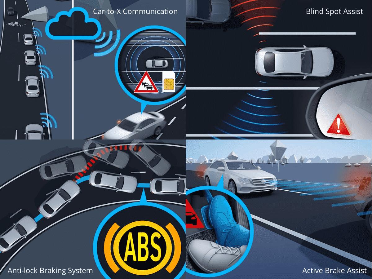 Fitur Keamanan dan Keselamatan Mercedes-Benz AMG GT 63S E 4Matic+