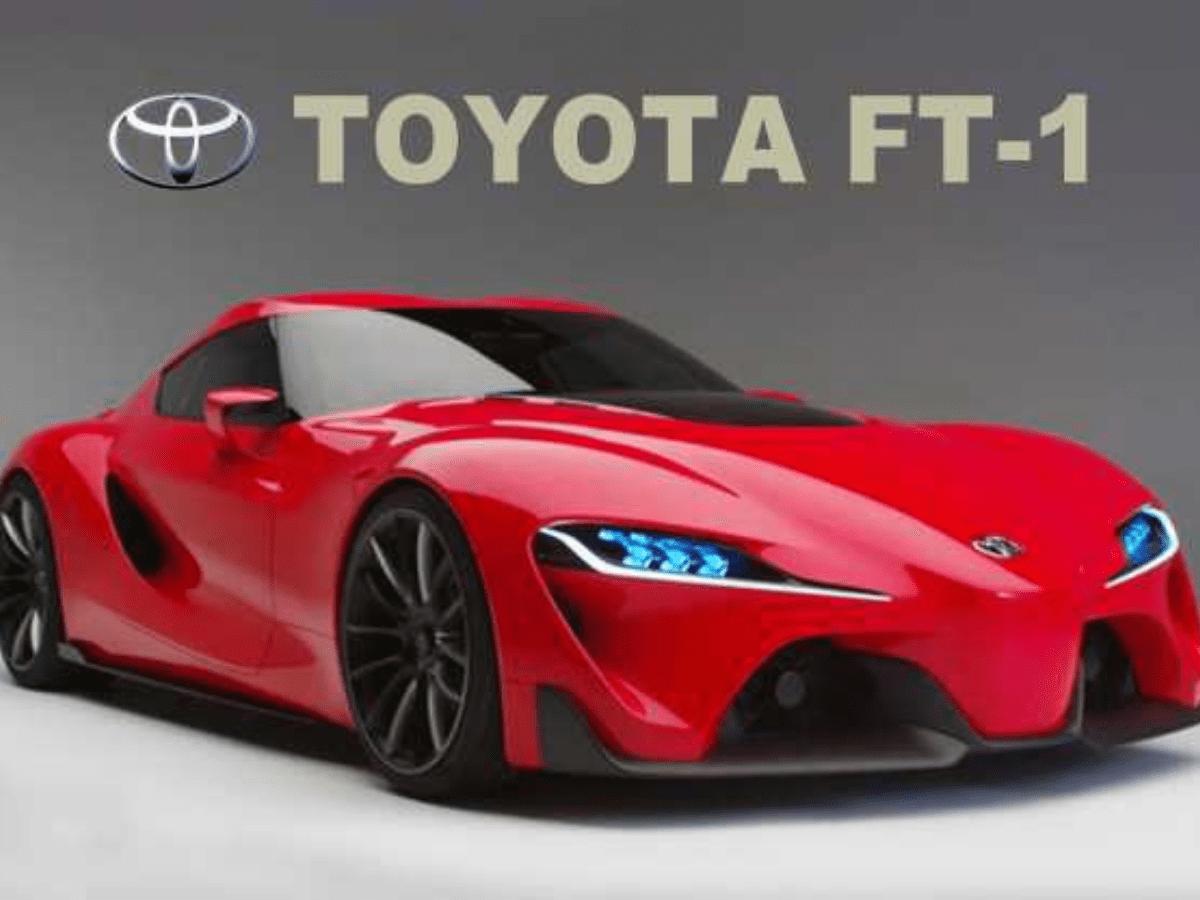 Mobil Konsep Toyota Supra FT-1