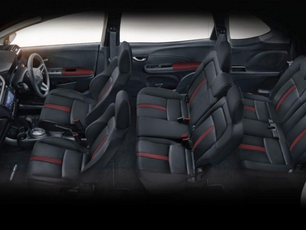 Interior Sporty Honda BR-V