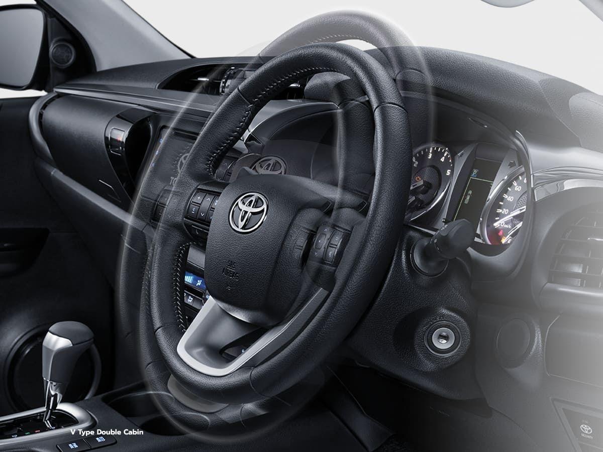 Steering Adjustment Toyota Hilux