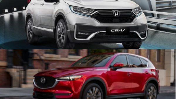 Honda CR-V dan Mazda CX-5
