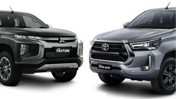 Toyota Hilux dan Mitsubishi Triton
