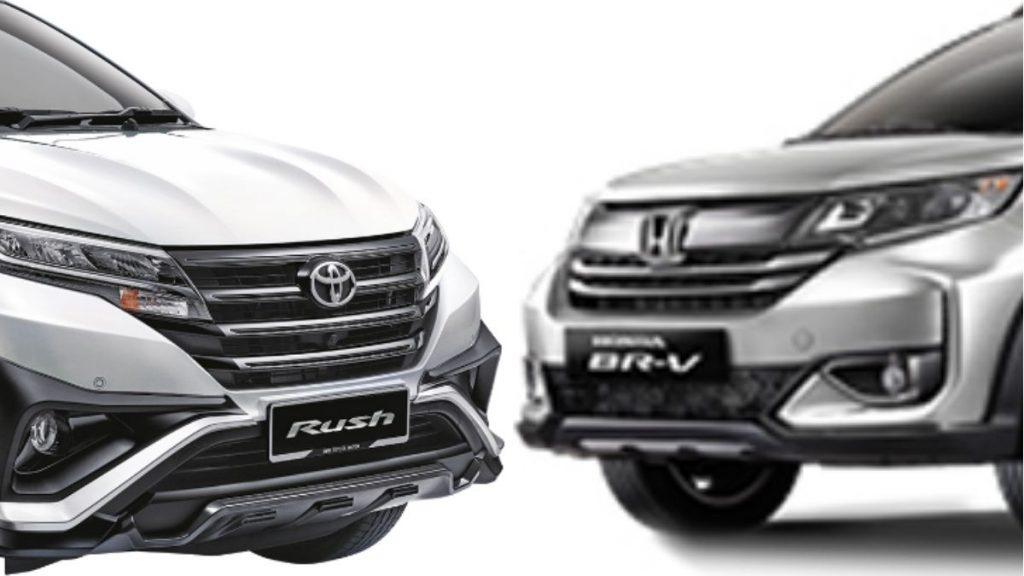 Honda BR-V dan Toyota Rush 2021