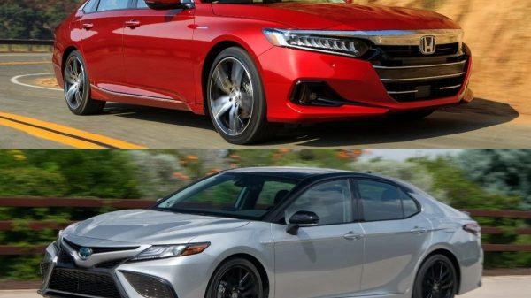 Honda Accord dan Toyota Camry