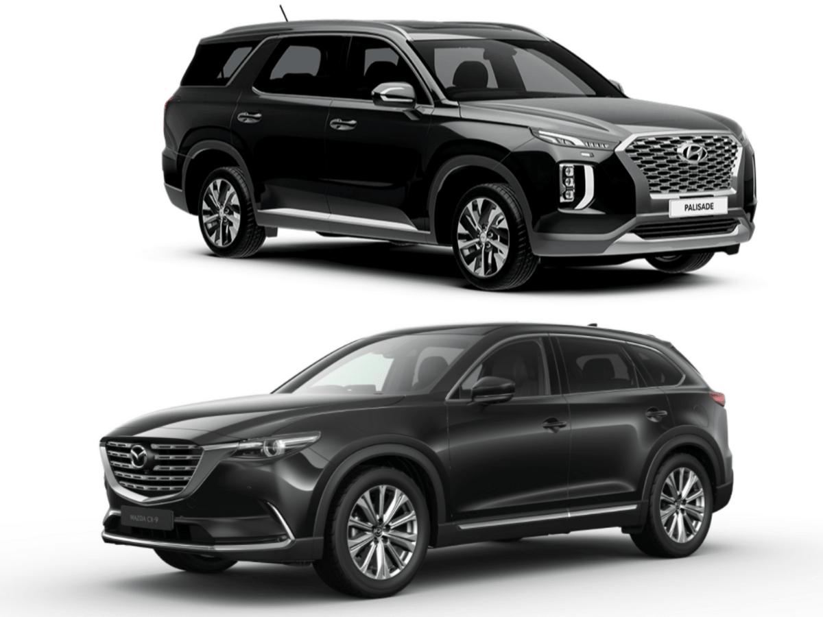 Hyundai Palisade vs Mazda CX-9