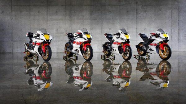 Memperingati Ulang Tahun Grand Prix ke 60, Yamaha Lauching Motor Dengan Livery Khusus