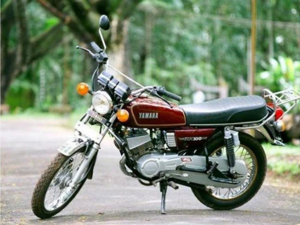 Tampilan Yamaha RX100
