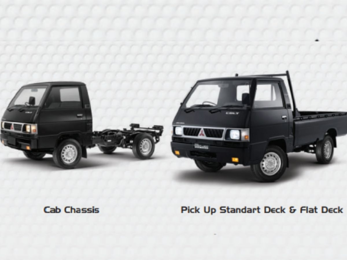 Tampilan Line Up Mitsubishi L300