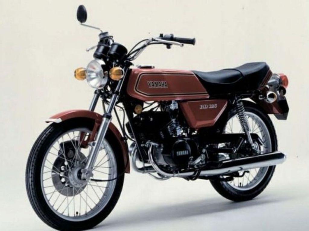 Tampilan Yamaha RX125