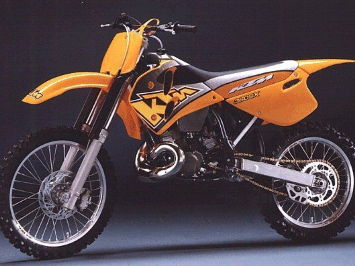 Motor KTM Supermoto 1997