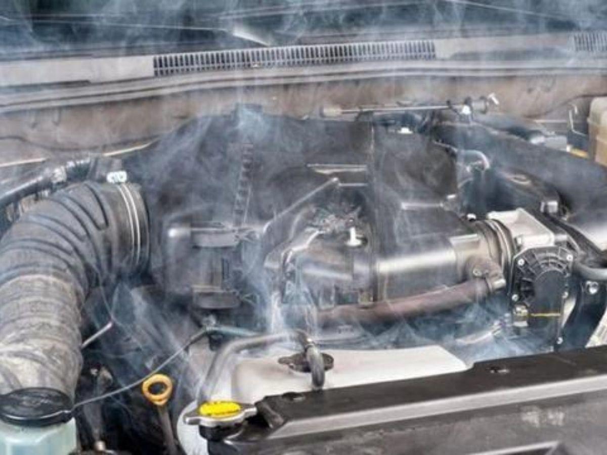 Mesin yang overheat