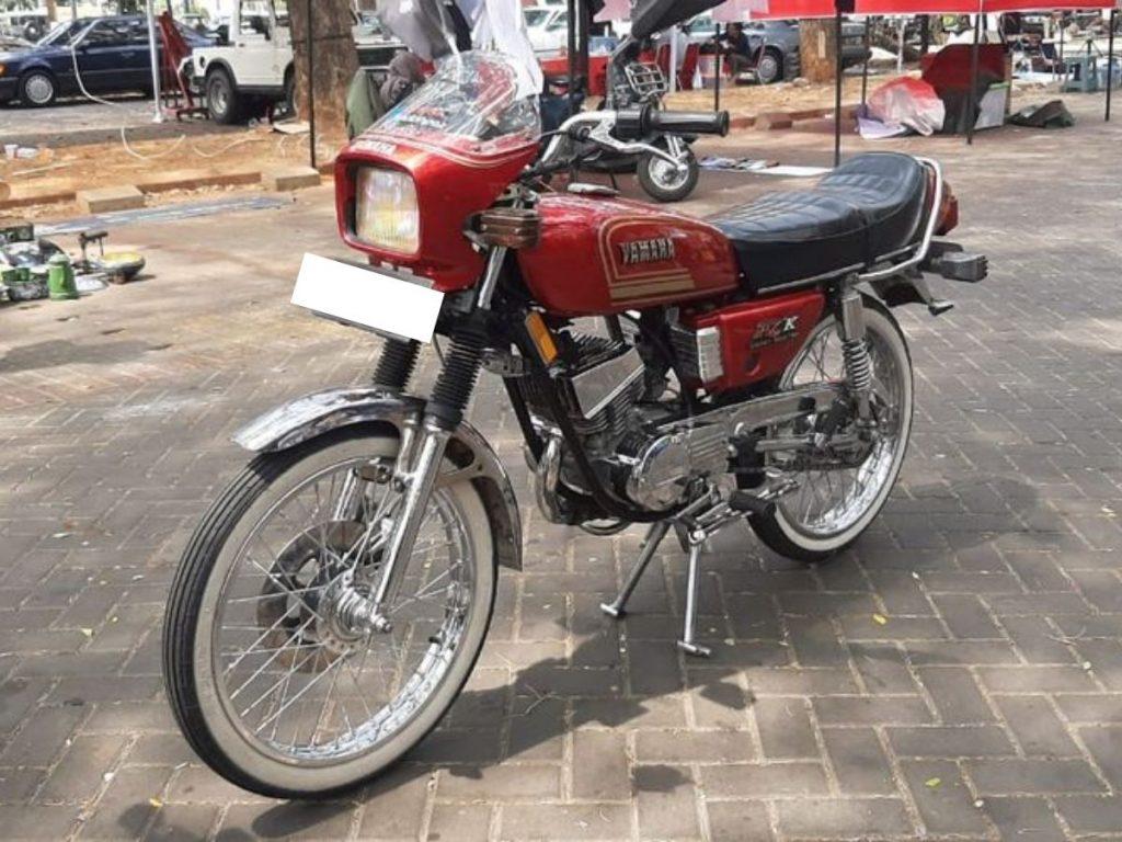 Tampilan Yamaha RX-K