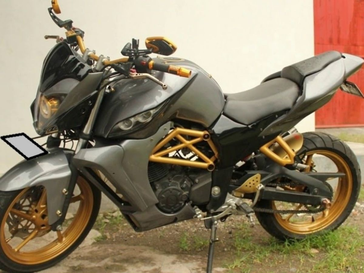 Modifikasi Honda Megapro Primus - Street Fighter