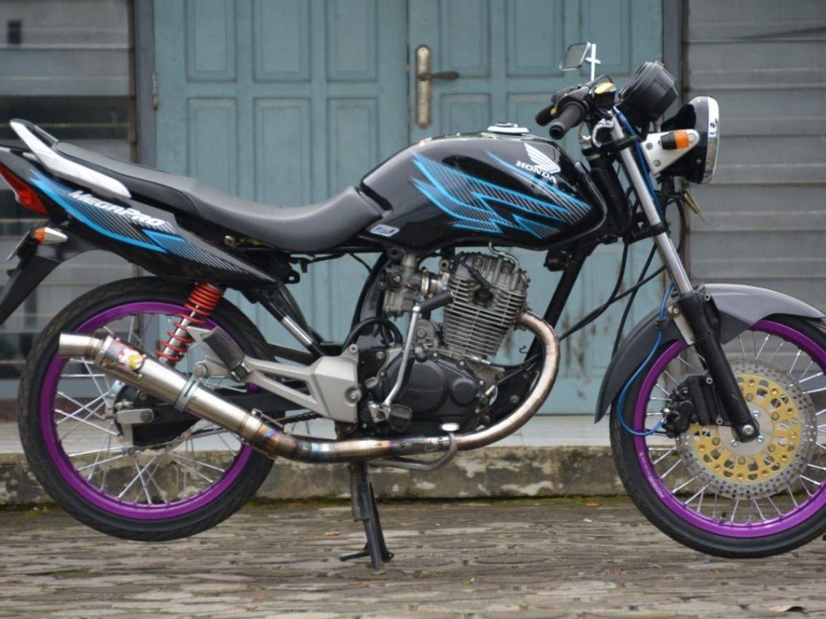 Modifikasi Honda Megapro Primus - Herex